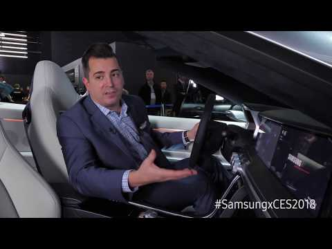 Test Drive Samsung's 'Digital Cockpit' for the Future Connected Car