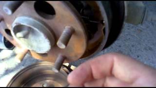 Замена тормозных колодок тойота камри