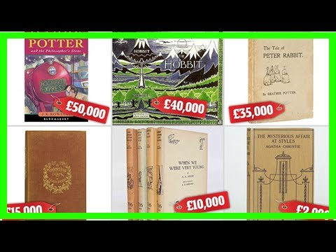 Revealed: the 20 most valuable books you might have at home