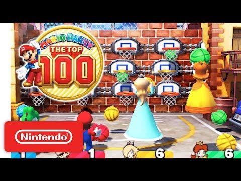 Mario Party: The Top 100 - Game Modes & amiibo Trailer - Nintendo 3DS