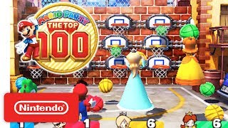 Mario Party: The Top 100 - Game Modes & amiibo Trailer - Nintendo 3DS