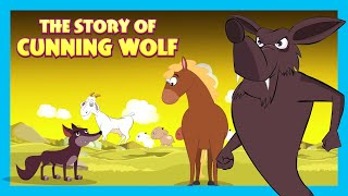 The Stories Of Cunning Wolf || Stories For Kids || Traditional Story For Kids || T-Series Kids Hut