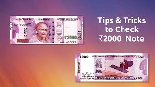 2000 rupee note features