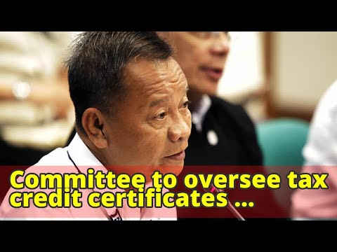 Committee to oversee tax credit certificates revived in Customs