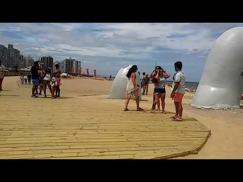 Foto con dron. Punta del Éste Uruguay