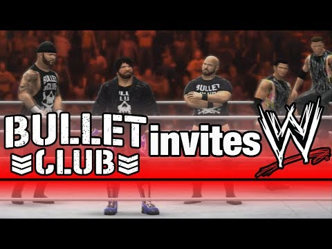 bullet club invites wwe wwe 2k14 youtube