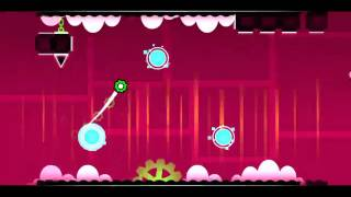 Geometry Dash Cutterfunk level 11 (the 2nd and 3rd coin only)