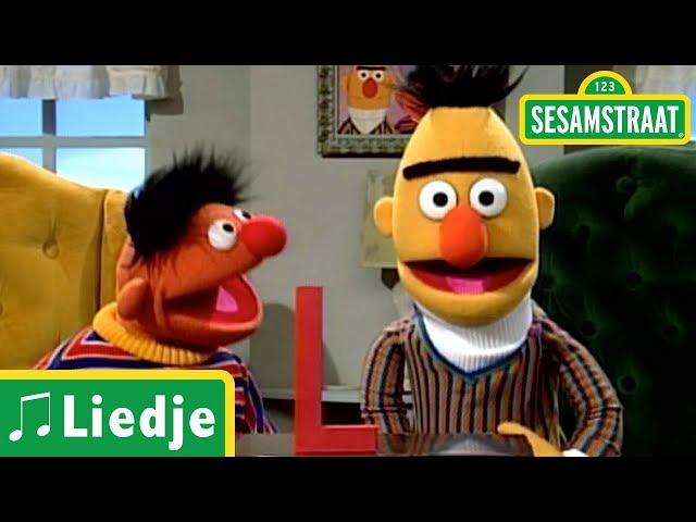 Woorden met de letter L - Bert & Ernie - Liedje - Sesamstraat