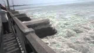कोशी नदीमा पानीको बहाव ..kosi river in nepal