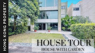 4K HOUSE TOUR | LUXURY PEAK HOUSE WITH GARDEN   | Hong Kong