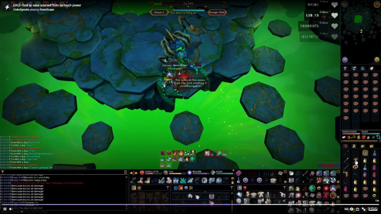 Telos - Dealing with so much power w/ defensives on CD