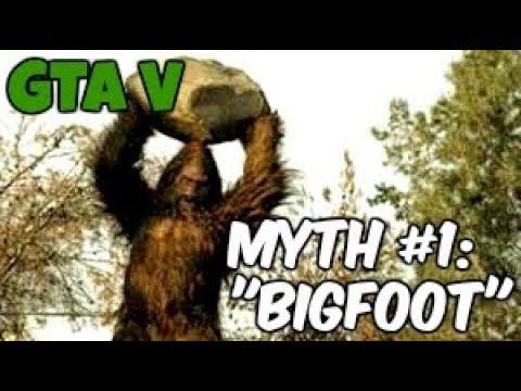 GTA V l Myths & Legends l Myth #1 l Bigfoot