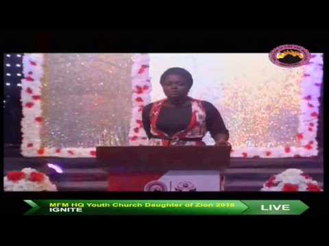 MFM HQ Youth Church - Daughter of Zion 2018 (Day 2)