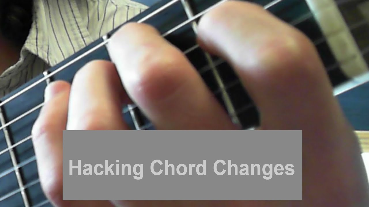 Hacking chord changes em to bm made easy youtube hacking chord changes em to bm made easy hexwebz Gallery
