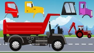 Excavator with Mini Loader & Yellow Excavator - Factory | What Cabin? What Wheels? Maszyny