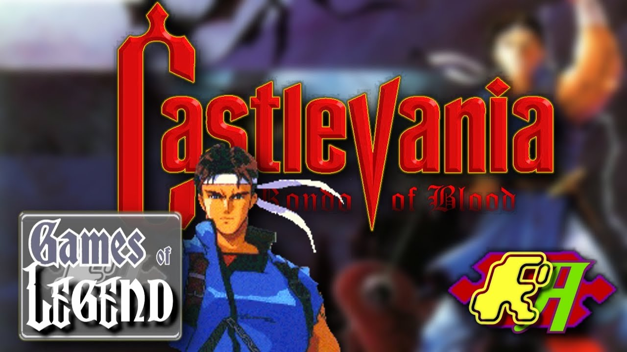 Castlevania Rondo Of Blood Pc Engine Games Of Legend Youtube