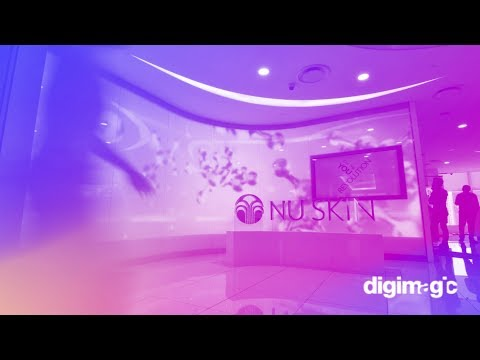 Nu Skin Singapore Showroom Experiential Media