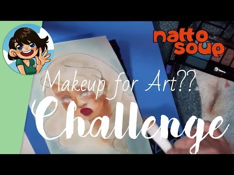 Drawing with Makeup?! Makeup Challenge Part 1