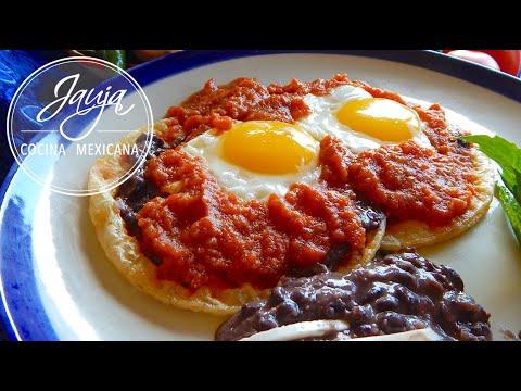 Receta de Huevos Rancheros. Huevos Rancheros Mexicanos