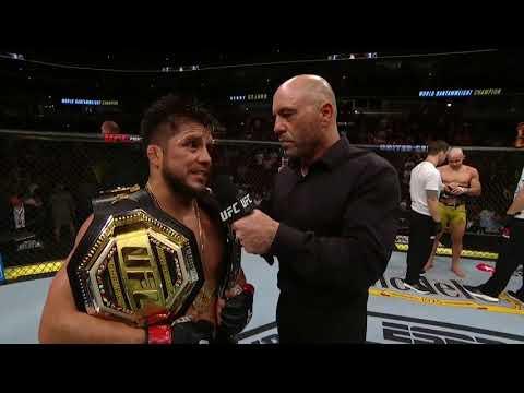UFC 238: Генри Сехудо - Слова после боя
