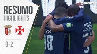 Highlights   Resumo: Sp. Braga 0-2 Belenenses (Liga 18/19 #23)