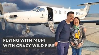 flying-with-my-mum-together-on-a-private-plane
