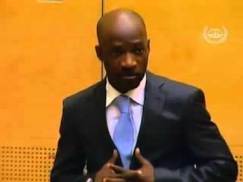 Charles Blé Goudé devant la CPI ce 27 mars 2014