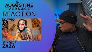 6IX9INE ZAZA REACTION VIDEO | ZAZA OFFICIAL VIDEO REACTION | ZAZA REACTION