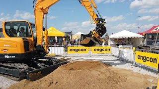 Video still for Engcon Tiltrotator at ICUEE 2019
