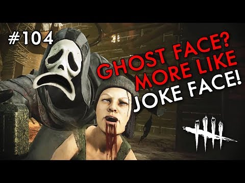 GHOST FACE? MORE LIKE JOKE FACE! NEW KILLER + NEW MORI! (Dead By Daylight #104)