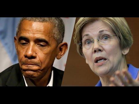 Elizabeth Warren On Obama Giving A $400,000 Speech To Wall Street