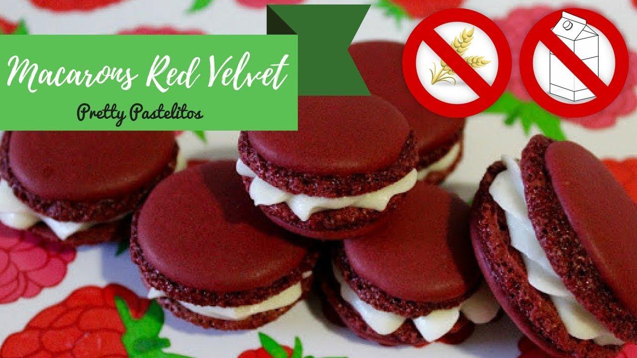 Pretty Pastelitos: Macarons Red Velvet (sin gluten ni lactosa)