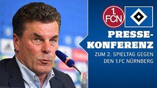 RELIVE: Die PK vor dem Spiel gegen den 1. FC Nürnberg