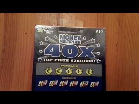 40x Money Multiplier ticket, Irish National Lottery - #149