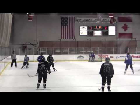 3rd Period PJH Black Ties vs Eugene Jr Generals 1-12-2014