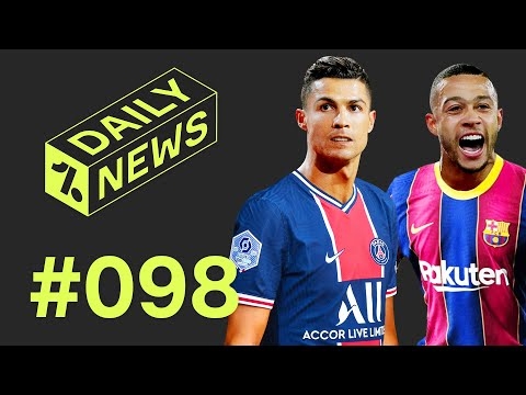 PSG ready for Ronaldo + Depay to Barcelona update!