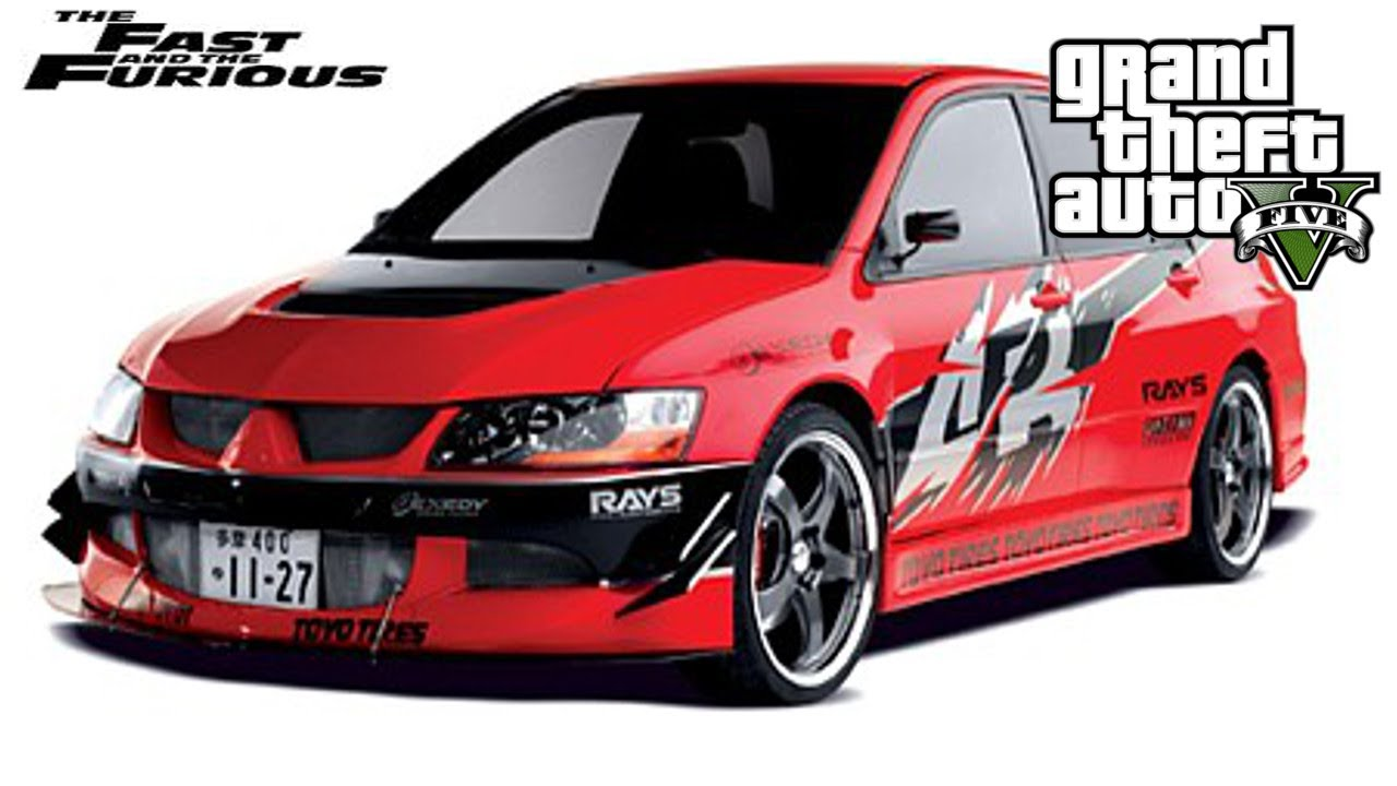 Gta Custom Car Build Fast And Furious Tokyo Drift Lancer