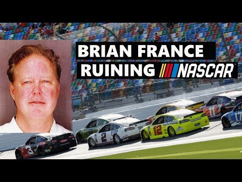 More than just a DUI!  Brian France: Ruining NASCAR