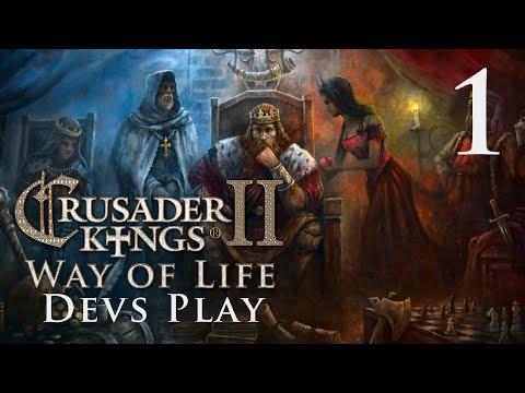 Crusader Kings 2 - Way of Life - Devs Play 1 |