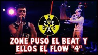 ZONE PUSO EL BEAT Y ELLOS HICIERON EL RESTO | PARTE 4