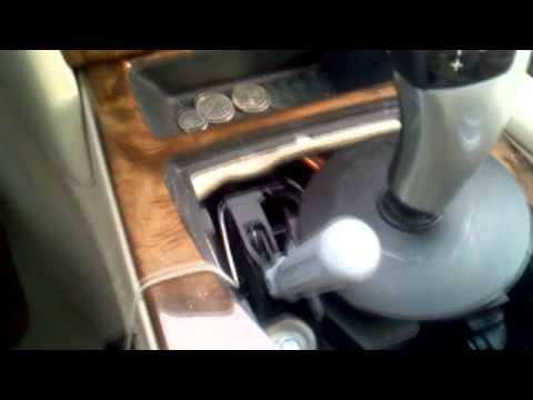 BMW Emergency Transmission Release 5 Series E60  YouTube