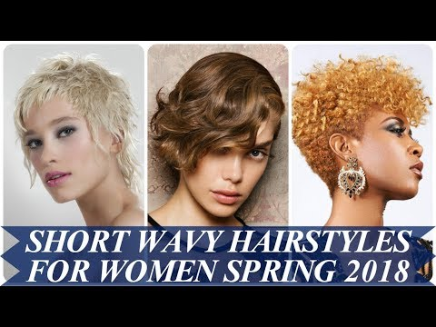 20 Trendy short wavy hairstyles for women spring 2018