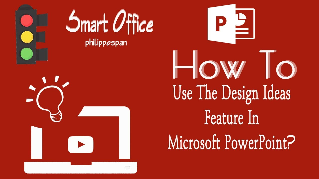 Design Ideas In PowerPoint 2016 - YouTube