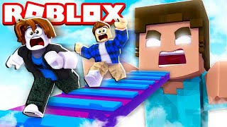ESCAPE THE GIANT HEROBRINE OBBY IN ROBLOX!