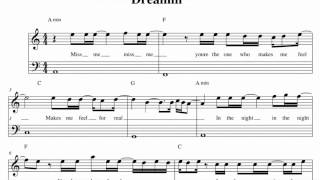 Youssoupha ft Indila - Dreamin - Music Sheet