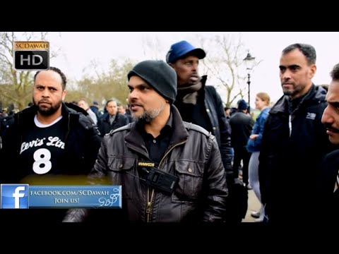 Enlightend Soul! Hashim & Visitor | Speakers Corner | Hyde Park