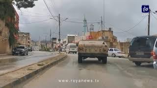 محافظة الطفيلة في أول أيام حظر التجول