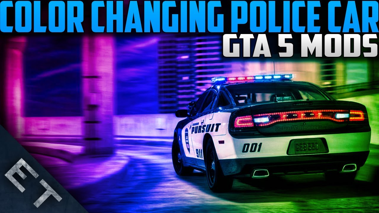 gta online how to make a police car