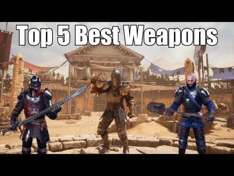 Top 5 Best Weapons | In-Depth | Chivalry 2 |