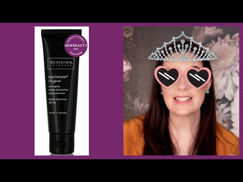 Revision Intellishade Original Anti-Aging Tinted Moisturizer Sunscreen Broad Spectrum SPF 45 Review